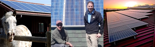 Residential Solar and satisfied customers! Large-scale solar. Solar for homes